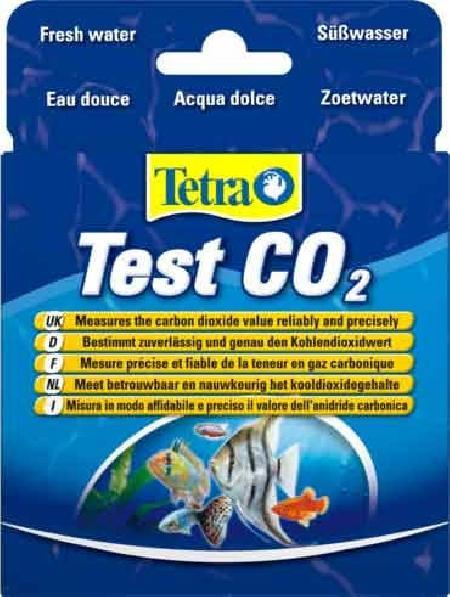 Тест Tetra Test  CO2, для определения уровня углекислого газа в пресноводных аквариумах