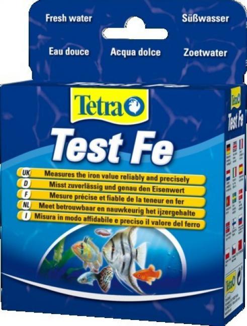 Тест Tetra Test Fe, для определения уровня железа в пресноводных аквариумах