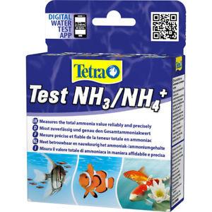 Тест Tetra Test  NH3  NH4, для определения уровня аммиака в пресноводморских аквариумах