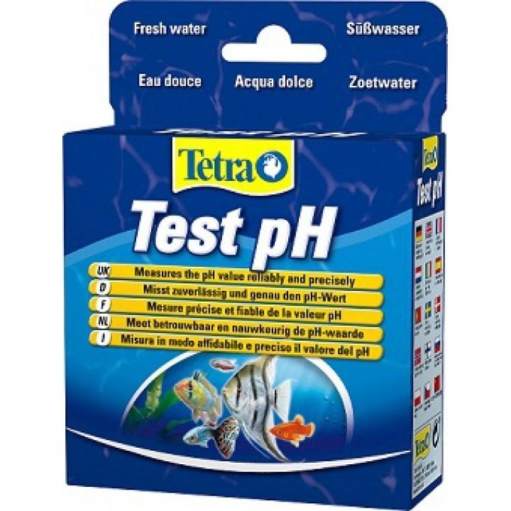 Тест Tetra Test pH,  для определения уровня pH в пресноводных аквариумах