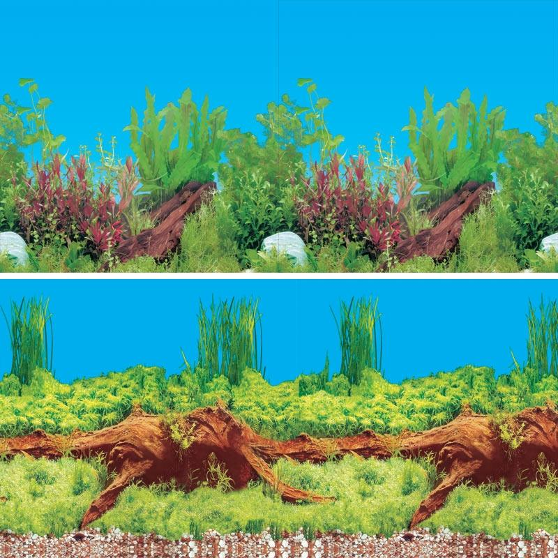 Фон 9009/9021, 0,3*15м Древесный ручей/Сад в аквариуме, 74064007