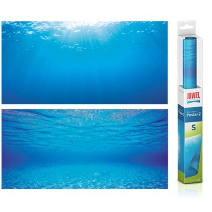 Фон-пленка Juwel Poster2 голубая вода  60х30см (86252)