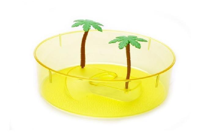 Benelux аксессуары Маленькая круглая ванночка для черепахи 20*20*10 см (Turtle box small round) 445, 0,250 кг, 50470