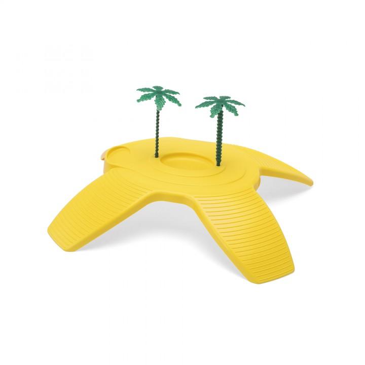 IMAC Остров пластиковый для черепах =Turtle Beach= 32х27,5х7,5см