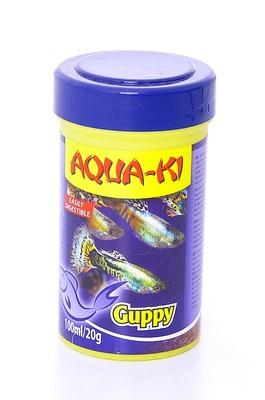 Benelux корма ВИА Корм для гуппи (AQUA-KI GUPPY 100 ML), 0,020 кг, 51088