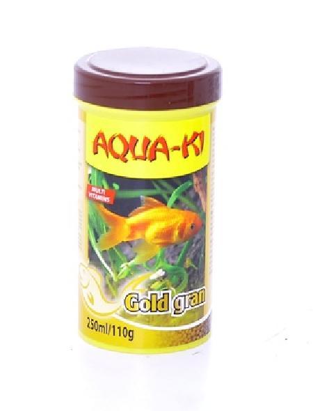 Benelux корма ВИА Корм для золотых рыбок, гранулы (AQUA-KI GOLD GRAN 100 ML), 0,070 кг, 51086
