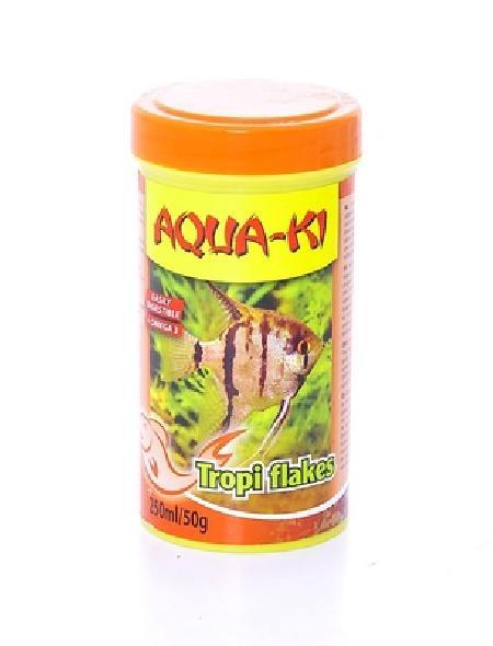 Benelux корма ВИА Корм для тропических рыб, хлопья (AQUA-KI TROPI FLAKES 250 ML), 0,050 кг, 51092