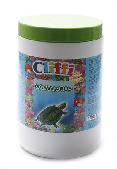 Cliffi (Италия) Для черепах, большие сушеные креветки, 1000мл (Gambabig) PCAA309, 0,130 кг, 40400