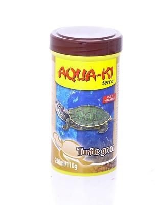 Benelux корма ВИА Корм для черепах, гранулы (AQUA-KI TURTLE GRAN 250 ML), 0,140 кг, 51098