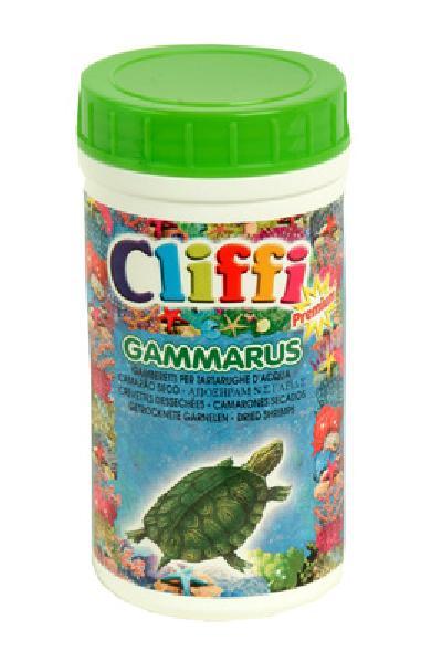 Cliffi (Италия) Для черепах, средние сушеные креветки, 1000мл (Gammarus) PCAA303, 0,110 кг, 40403