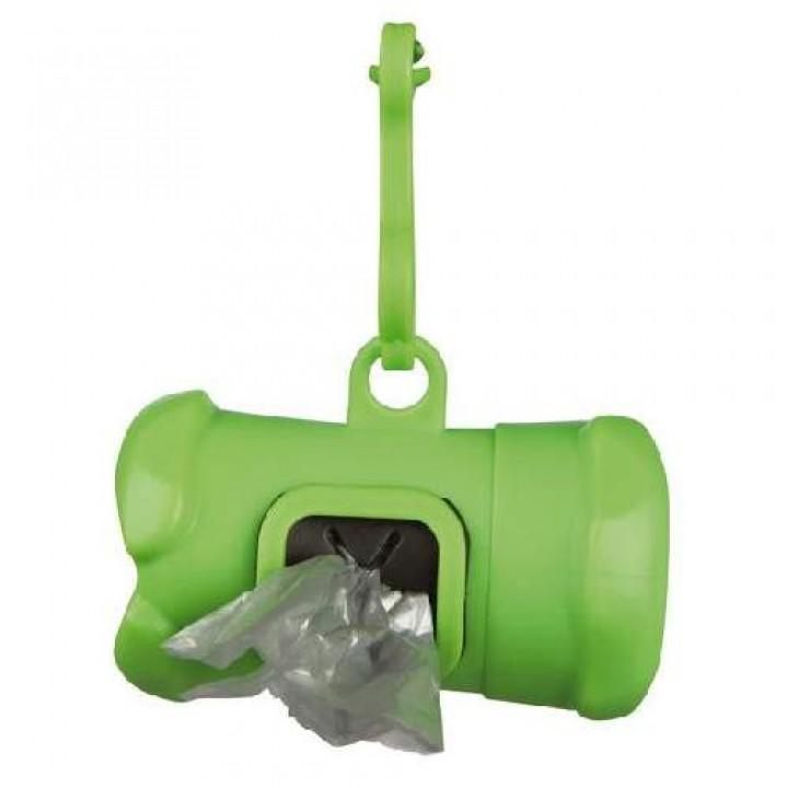 22846 Контейнер пластик для уборочных пакетов (+ 15 пакетов 3 л.)