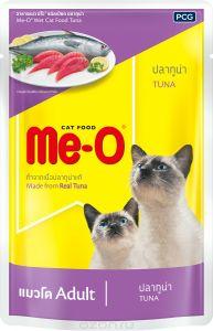 Ме-О влажный корм для взрослых кошек всех пород, тунец 80 гр