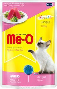 Ме-О влажный корм для котят всех пород, тунец 80 гр