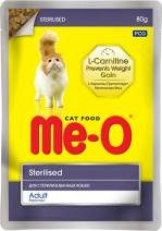 Ме-О 19574 пауч д/кастрированных кошек и котов 80г, 84475