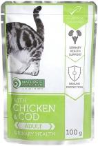 Натур Протекшн 51910 Urinary Health пауч д/кошек уринари Курица/Треска 100г, 81576