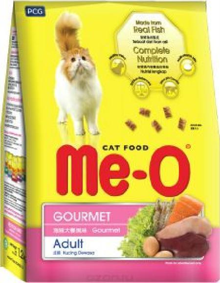 Ме-О корм для взрослых кошек всех пород, деликатес 7 кг