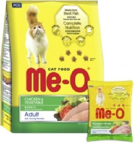 Ме-О 58026 Adult сух.д/кошек Курица с овощами 200г, 82245