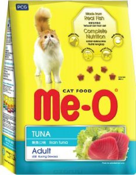 Ме-О корм для взрослых кошек всех пород, тунец 7 кг