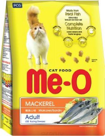 Ме-О корм для взрослых кошек всех пород, скумбрия 7 кг