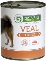 Натур Протекшн 46332 Adult Veal кон.для собак Телятина 800г