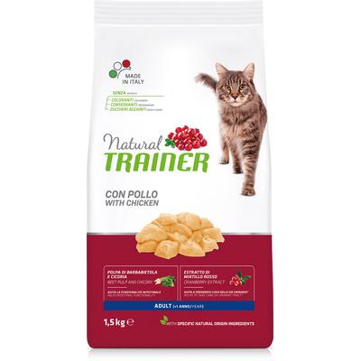 Trainer Сухой корм для взрослых кошек с курицей 010/029627, 1,500 кг