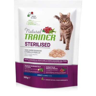 Trainer Сухой корм для кастрированных кошек с белым мясом 010/230511, 0,300 кг