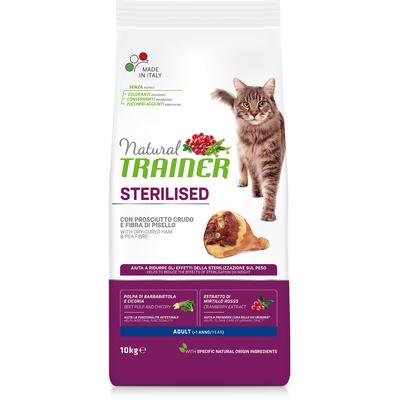 Trainer Сухой корм для кастрированных кошек с сыровяленой ветчиной 010/029795, 1,500 кг