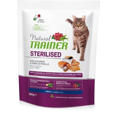 Trainer Сухой корм для кастрированных кошек с лососем 010/029832, 1,500 кг