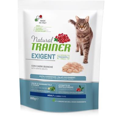 Trainer Сухой корм для взрослых привередливых кошек с белым мясом 010/230542, 0,300 кг