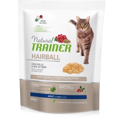 Trainer Сухой корм для взрослых кошек для вывода шерсти с курицей (HAIRBALL ADULT WITH CHICKEN) 010/246963, 0,300 кг