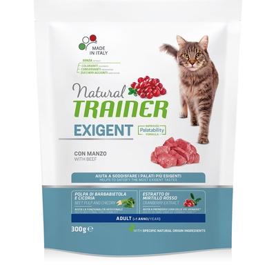 Trainer Сухой корм для взрослых привередливых кошек с говядиной и курицей(ADULT WITH BEEF) 010/247045, 1,500 кг