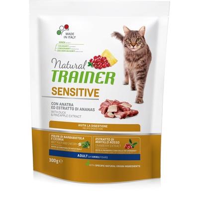 Trainer Сухой корм для взрослых кошек склонных к аллергии с уткой (SENSITIVE ADULT WITH DUCK) 010/246918, 0,300 кг