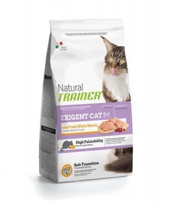 Trainer Natural корм для привередливых кошек со свежим белым мясом 1,5 кг