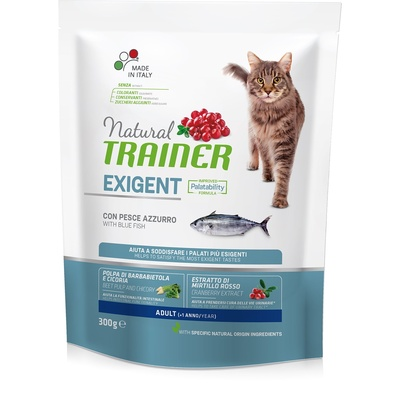 Trainer Сухой корм для взрослых привередливых кошек с океанической рыбой 010/230566, 0,300 кг