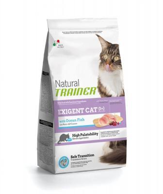 Trainer Natural корм для привередливых кошек с океанической рыбой 1,5 кг