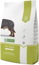 Nature's Protection корм для взрослых собак малых пород, курица, индейка и утка 2 кг