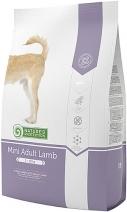 Nature's Protection корм для взрослых собак малых пород, ягненок 2 кг