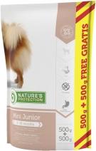 Nature's Protection корм для щенков малых пород, курица, индейка и утка 1 кг