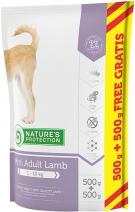 Nature's Protection корм для взрослых собак всех пород, ягненок 1 кг