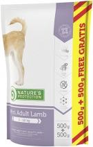 Nature's Protection корм для взрослых собак малых пород, ягненок 1 кг