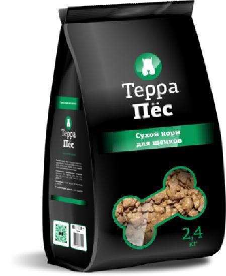ТерраПес корм для щенков 2,4 кг