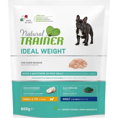 Trainer Сухой корм для взрослых собак малых пород с избыточным весом с белым мясом (Ideal weight) 010/252199, 0,800 кг