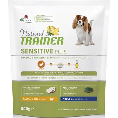 Trainer Сухой корм для взрослых собак малых пород гипоаллергенный с кроликом (SENSITIVE PLUS) 010/252182, 0,800 кг