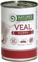 Nature's Protection влажный корм для привередливых щенков всех пород, телятина 100 гр