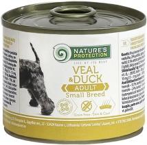 Натур Протекшн 50951 Adult Small Breeds Veal & Duck кон.длЯ собак обак мелких пород ТелятинаУтка 200г