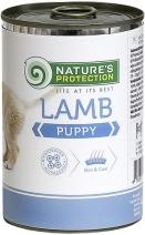 Nature's Protection влажный корм для щенков всех пород, ягненок 400 гр