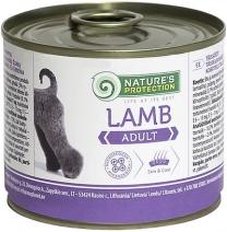 Натур Протекшн 45175 Adult Lamb кон.длЯ собак обак Ягненок 200г