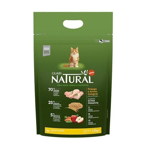 Н NATURAL 1.5кг котята ЦЫПЛЕНОКРИС