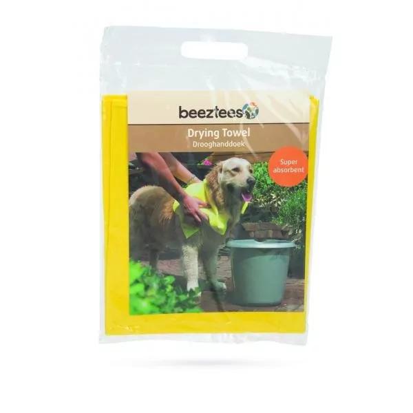 Beeztees 795035 Полотенце для собак желтое 50*60см