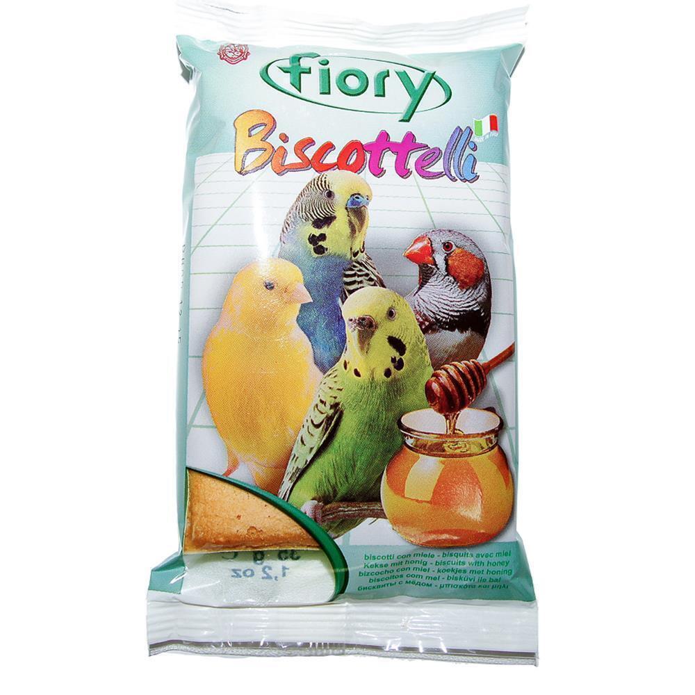 Fiory Biscottelli бисквиты для птиц, с медом 35 гр